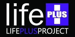 LifePLUS Black Sticker