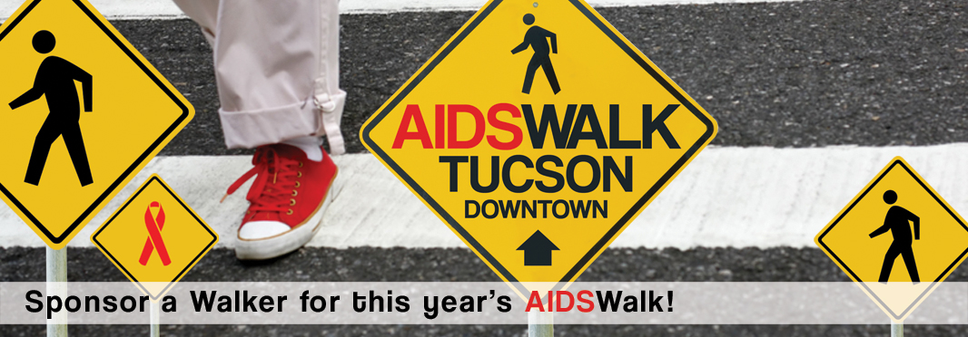 AIDSWALK Tucson depends on 100s of Walkers and their sponsors to be a success. Sponsor a Walker today.