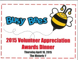 2015 Volunteer Appreciation invite