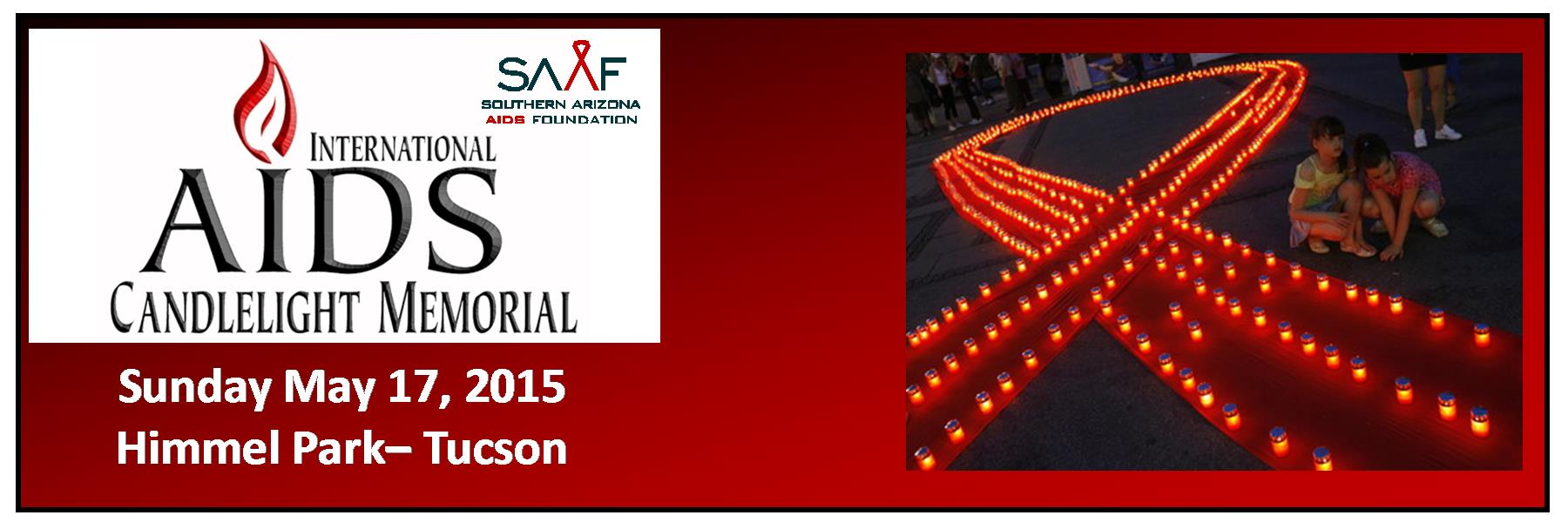 The 33rd Annual International AIDS Candlelight Memorial is Sunday May 17 at Himmel Park.