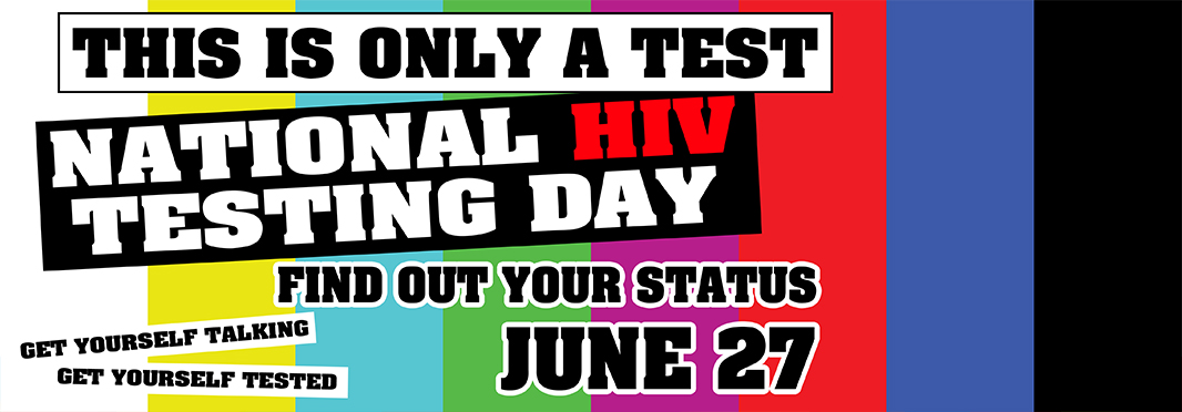 HIV Testing Day 2017 banner